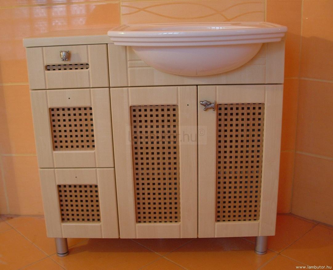 Fürdőszoba bútor, fürdőszoba szekrény, mosdószekrény, mosdó ...